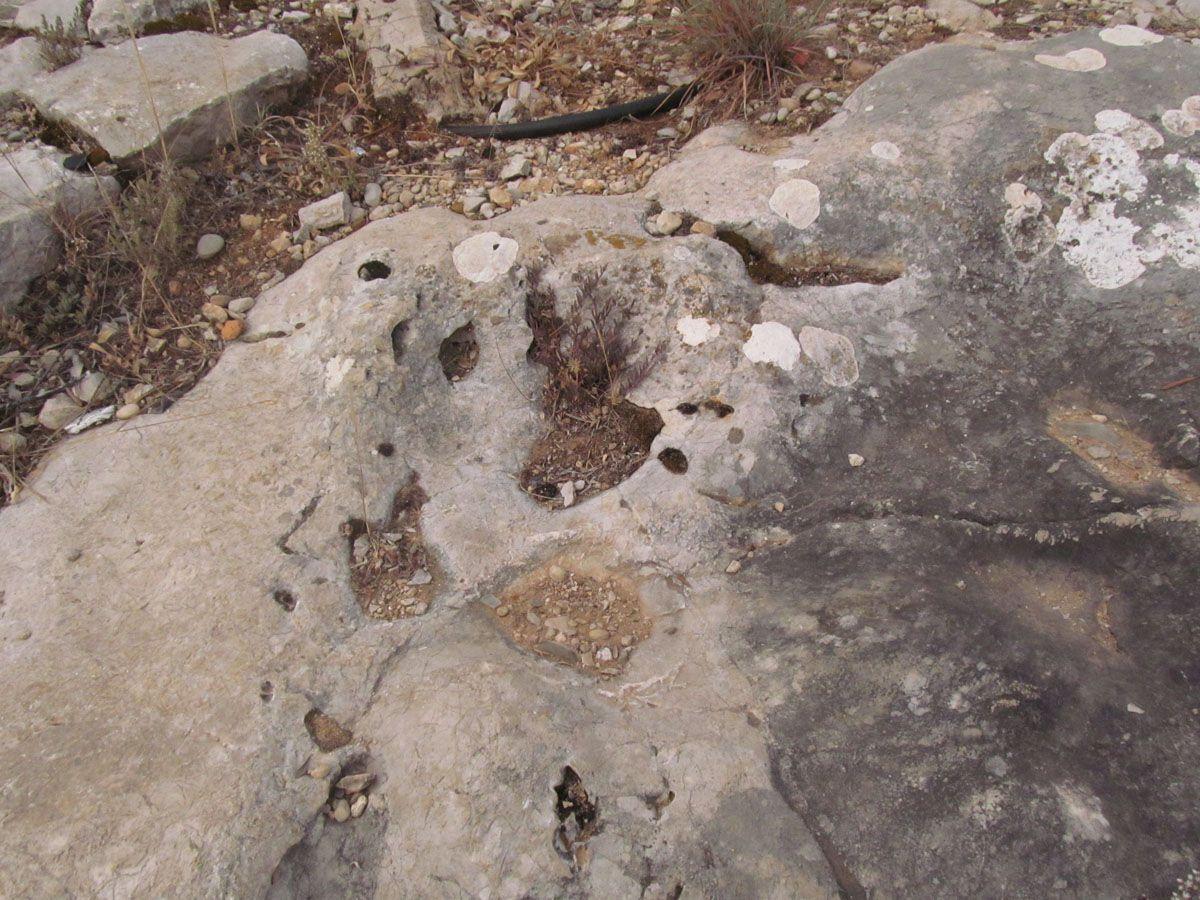fenómeno de erosión cárstica