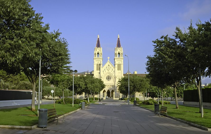 Façade principale du couvent de Las Esclavas