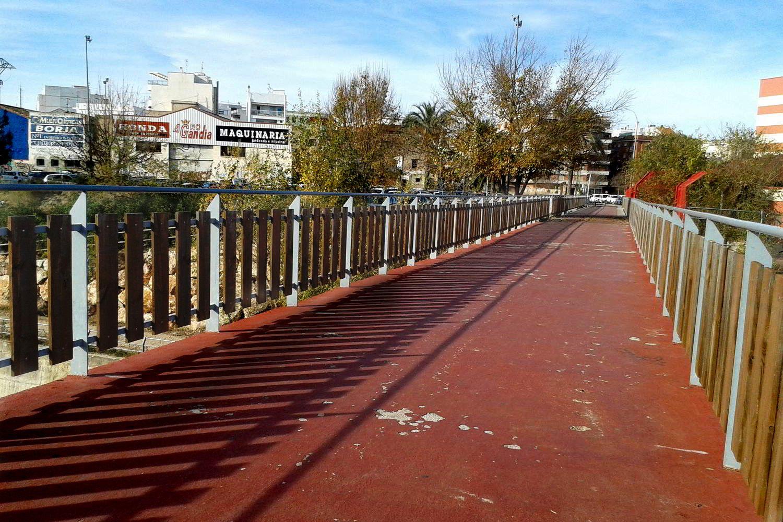 Pont de l'Antiga Via de la línia Carcaixent-Dénia.